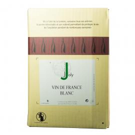 Vin de France Blanc 12° Joly - BIB 5 Litres