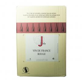 Vin de France Rouge 11° Joly - BIB 10 Litres