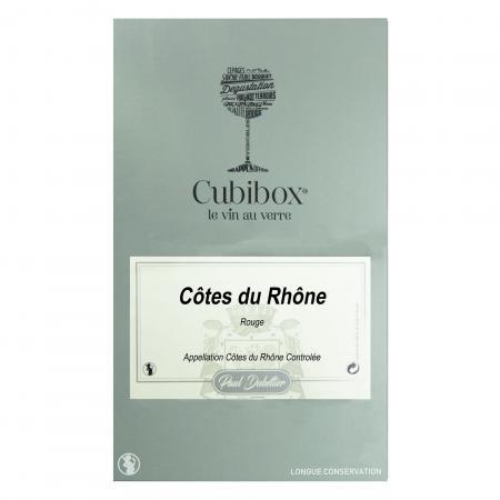 Côtes du Rhône rouge BIB 5 litres