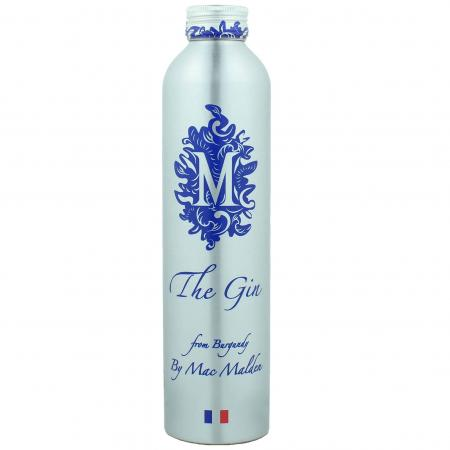 Gin By Mac Malden Made in burgundy