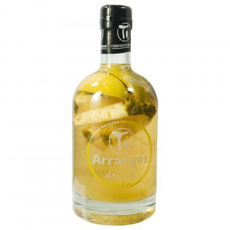 Rhum Arrangé de Ced' - Ananas Bio 70 cl