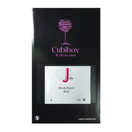 Vin de France Rosé 12° - Joly - BIB de 10 Litres