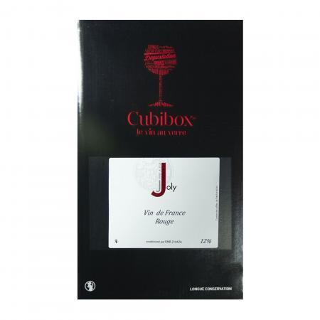 Vin de France Rouge 12° Joly - BIB 5 Litres