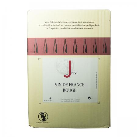 Vin de France Rouge 13° Joly - BIB 5 Litres
